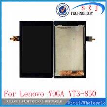 Nueva 8 pulgadas Tablet PC funda de protección Para El Lenovo YOGA YT3-850M YT3-850F YT3-850 Pantalla LCD Con Pantalla Táctil Digitalizador Asamblea