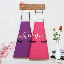 Creative Cotton Apron Lashout eyelashes 72x56cm