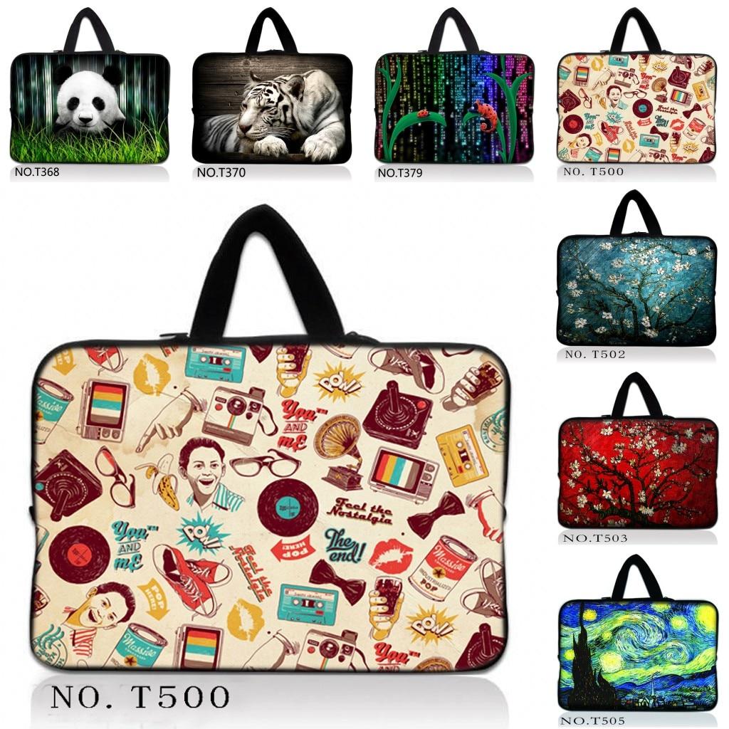 Hot Fashion Neoprene Zipper Laptop Sleeve Bag For 13/13.3/13.4/15/15.4/15.6/10/10.1/10.2/11.6/12/12.1/17.3Tablet PC