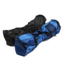 Bolso de aeropatín bolsos de deporte portátil para auto equilibrio de coches Scooters eléctricos bolsa de transporte 6,5/8/10 pulgadas. Azul/negro