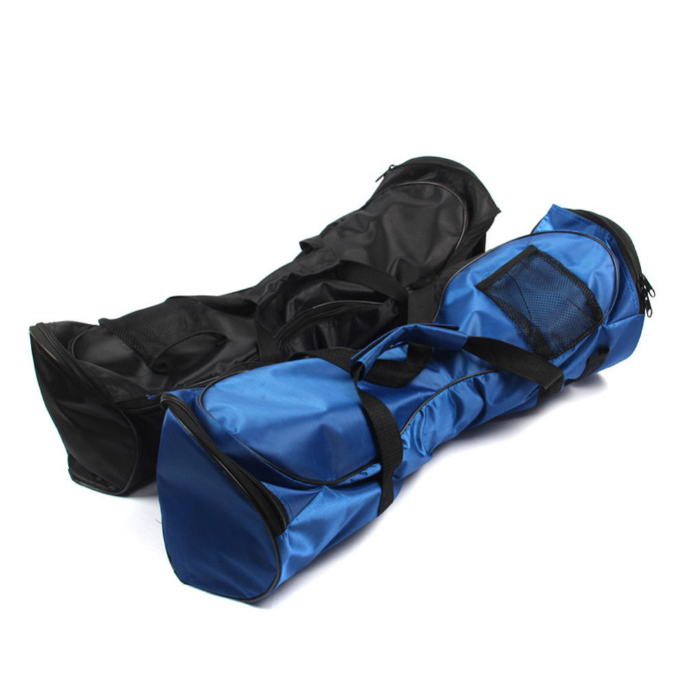 Portable Hoverboard Bag Sport Handbags For Self Balancing Car Electric Scooters Carry 6.5/8/10inch. Blue/Black