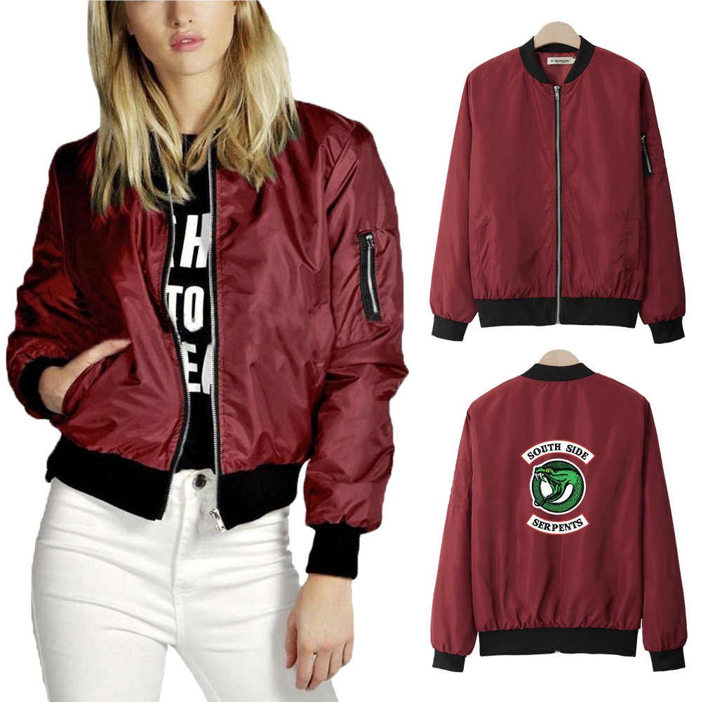 new fashion Riverdale Thin Jacket Women Fashion Casual Thin Jacket Women Exclusive Harajuku Hip Hop New Style Casual Clothes