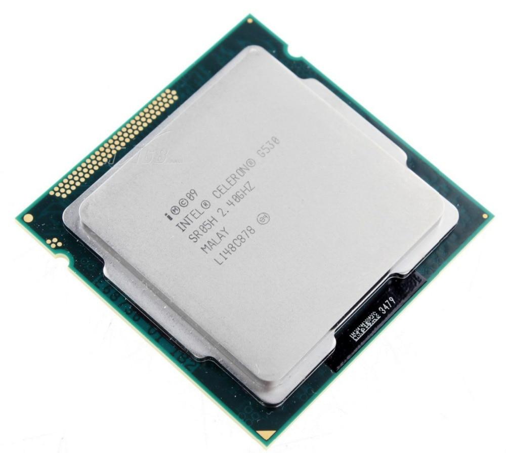 Original Celeron G530 Процессор 2 м Кэш, 2.40 ГГц LGA 1155 TDP 65 Вт настольный процессор Бесплатная доставка scrattered штук