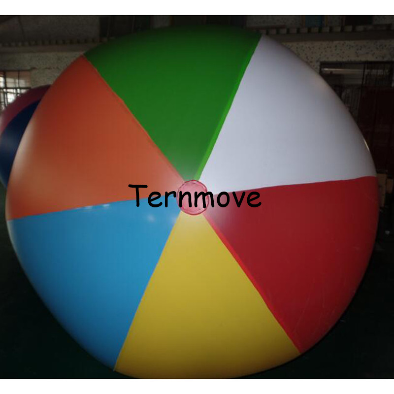 все цены на pvc beach ball Baby Kids Beach Pool Play Ball Inflatable Children Educational Soft Learning toys Inflated Game Toy онлайн