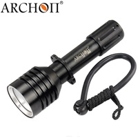 Diving Flashlight ARCHON D10U W16U Underwater Waterproof Torch 3Mode * L2 Led Diving Zoom Spotlight Lights