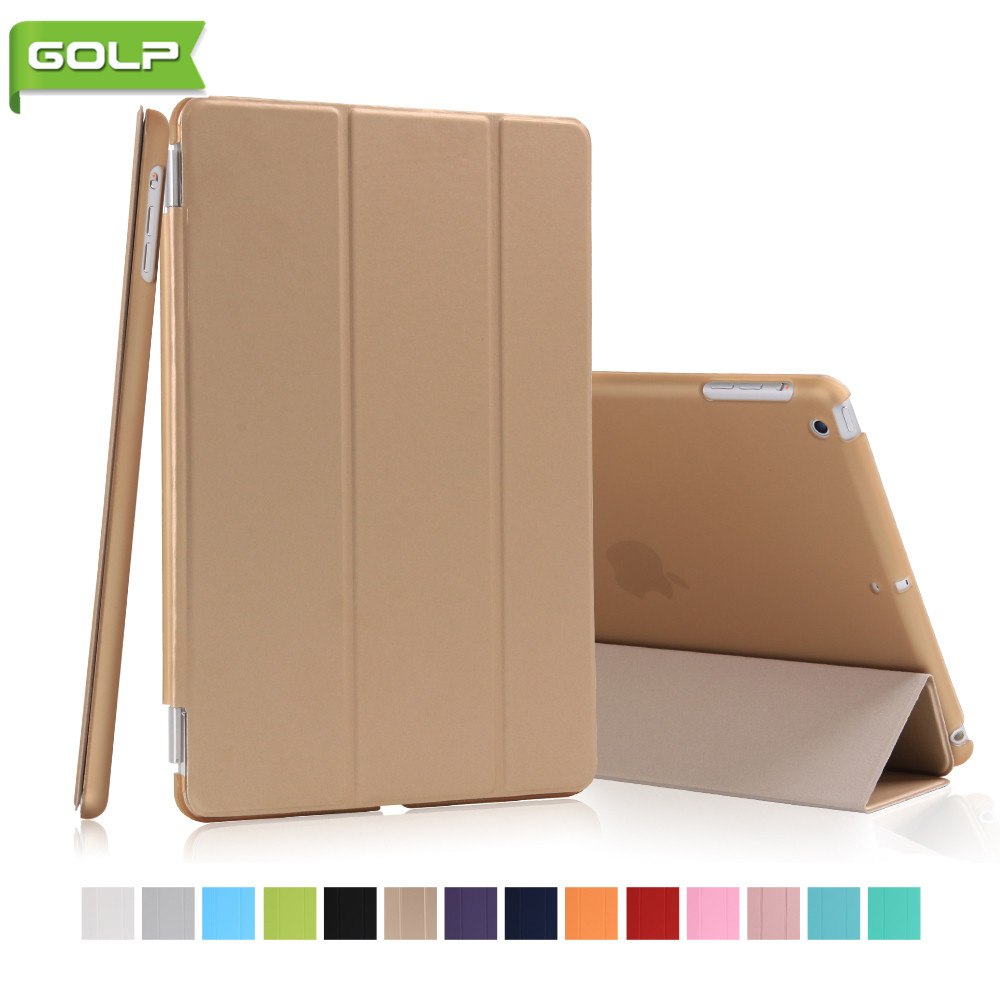 Case for IPad Mini 1/2/3, GOLP 2 In 1 Perfect Fit Magnetic PU Leather Smart Cover PC Translucent Back Case for IPad Mini 1/2/3 case for ipad 2 3 4 golp ultra slim pu leather flip case cover soft tpu back magentic smart cover for ipad 2 3 4 a1430 a1460