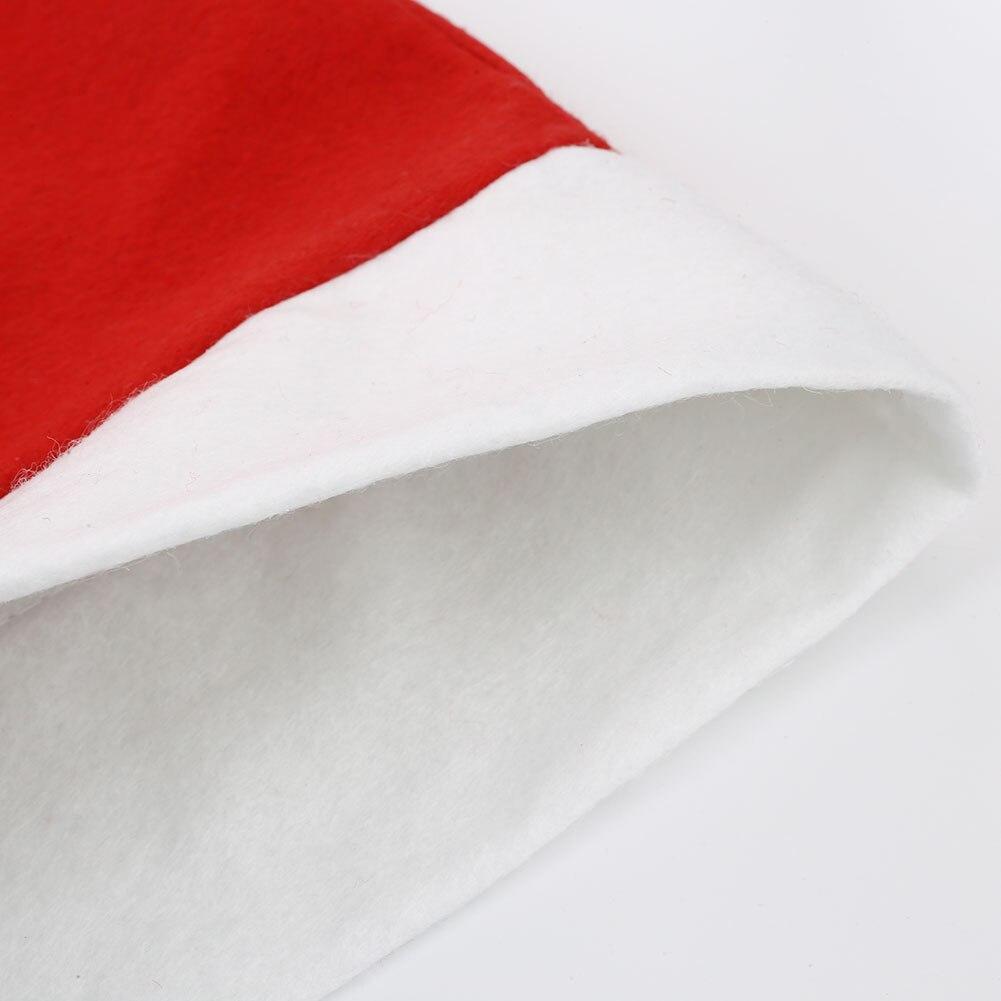 Милые Рождество стул сиденья санта-pattern Декор РЕСТОРАН партия