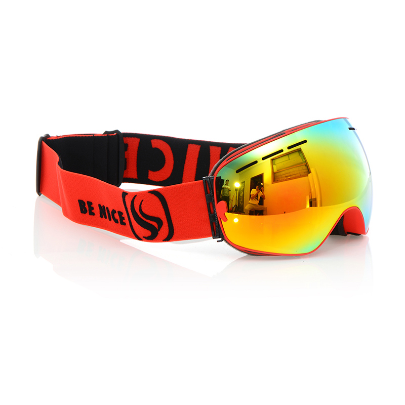 e6bf626a0c4d Genuine Brand Snowboard Ski Goggles 2 Double Layer Large Spectacal Anti Fog  Men Women motocross skiing Big vision Goggles-in Skiing Eyewear from Sports  ...