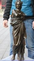 """30 """"Grecja Western Klasyczny Miedź Brąz Kobieta Wojownik Model Sztuki Rzeźby w Posągi i rzeźby od Dom i ogród na"""