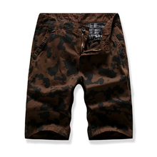 Men Shorts Camouflage Brand Clothing Comfortable Bermuda Summer Casual Tactical High Quality multi-color Camo Cargo