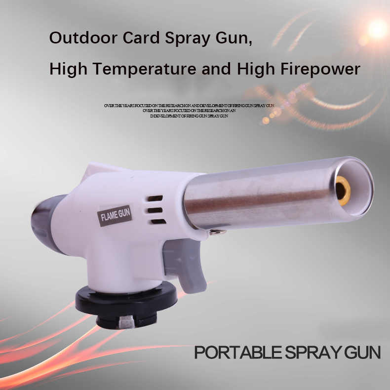 Открытый папка-разделитель пистолет воспламенитель углерода пистолет печь для выпечки Тип Насадки газовой струи обжарки подогрева сопла головки огня