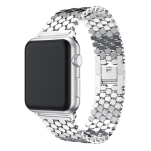 Sports Stainless Steel Watch Band Replacement Strap for Apple iWatch 38mm/42mm Series 3/2/1
