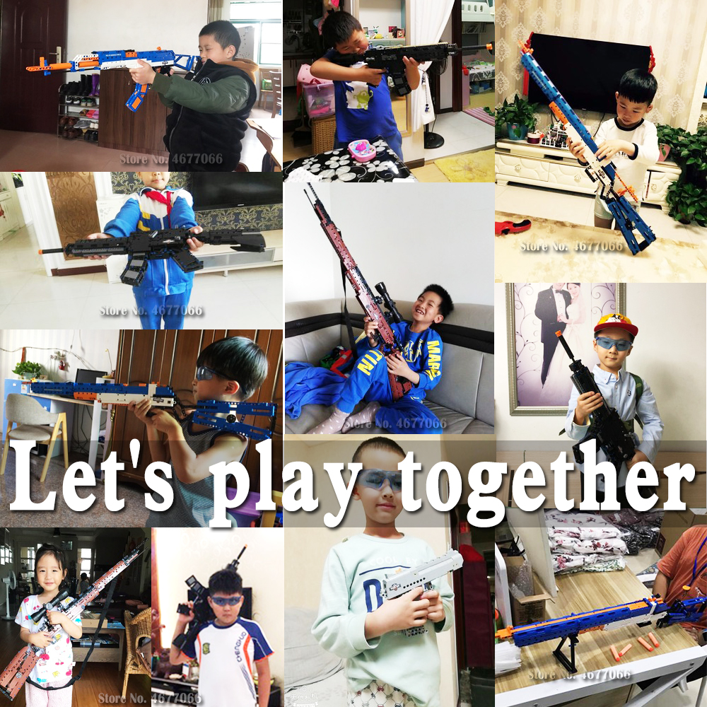 Image 2 - cada building blocks technic gun toy models & building toy gun model 98k bricks educational toys for children ww2 toys for kids-in Model Building Kits from Toys & Hobbies