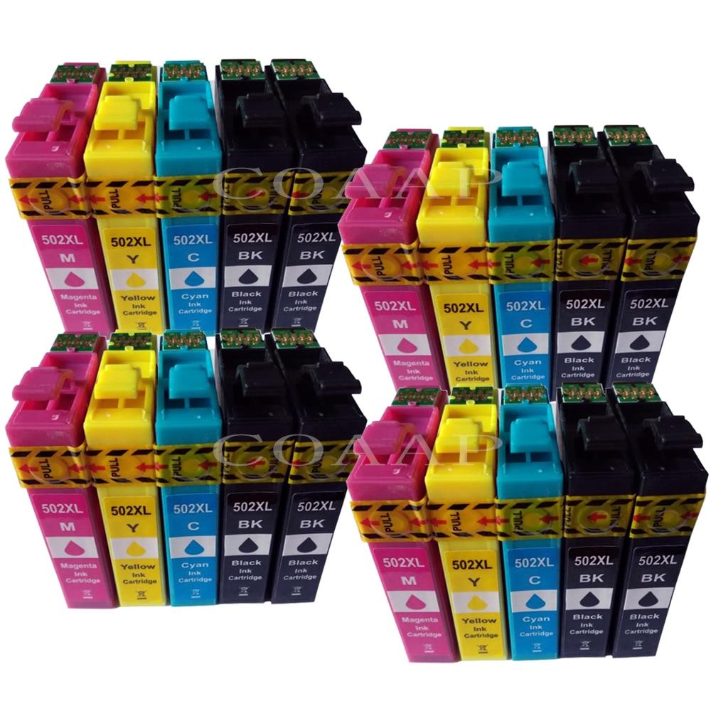 Printer ink cartridge compatible T502 XL for EPSON Expression Premium XP 5100 5105