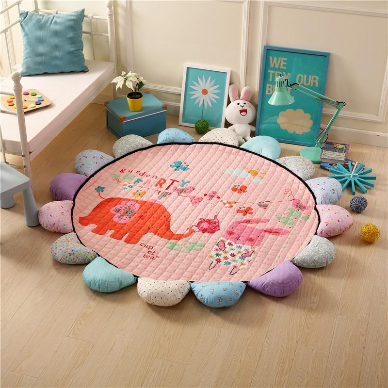 Haute qualité coton doux bébé jouer tapis Portable enfants jouet maison bébé couverture Pad enfant tapis bébé ramper tapis