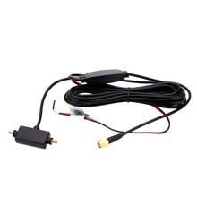 цена на In Car Radio Digital TV Antenna with Amplifier DVB-T ISDB-T Signal Antenna Reception Amplifier Car Digital Automobile