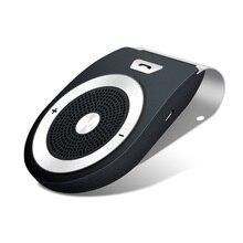 Автомобильный Bluetooth комплект громкой связи аудио приемник для телефонных звонков Авто Bluetooth динамик высокое качество AUX USB Bloototh автомобильный комплект для громкой связи