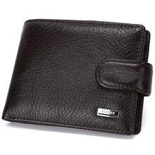 Geldbörsen herren Brieftaschen münztüte Carteira Masculina Porte Monnaie Berühmte Marke Mann Geldbörsen Kurz Design, Leder Wand