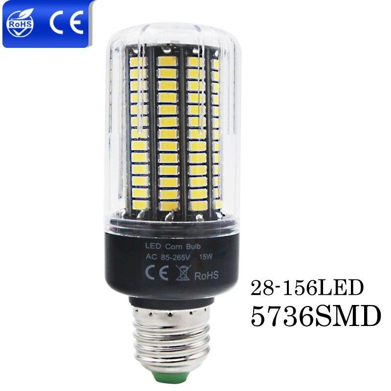 Постоянный ток E27 E14 220 В 3.5 Вт 5 Вт 6 Вт 7 Вт 9 Вт 12 Вт 15 Вт светодиодные лампы лампады De <font><b>LED</b></font> без мерцания 5730 светодиодов высокой Мощность Свет кукур&#8230;