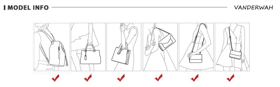 couro macio hobos bolsas femininas moda sacos