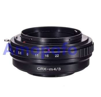 AMOPOFO CRX-M4/3 Adapter Contarex Lens to for Olympus Micro 4/3 OM-D or for Panasonic GH4 GX7 фото