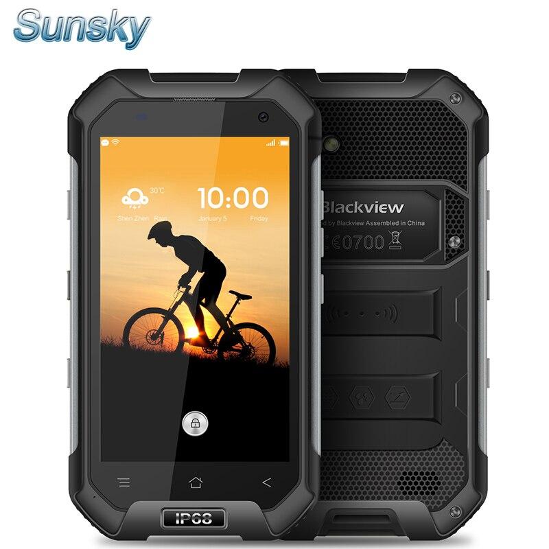 """bilder für Geschenke Blackview BV6000 4,7 """"HD IPS Android 6.0 MTK6755 octa-core 4g lte 3 GB RAM 32 GB ROM Dual SIM GPS Wasser Proof Handy"""