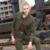 Moda Verde Del Ejército Chaquetas de Invierno Nueva Casual Abrigos y Chaquetas de Algodón de Estilo Británico Caliente Slim Fit Ropa de Las Mujeres GS-8213