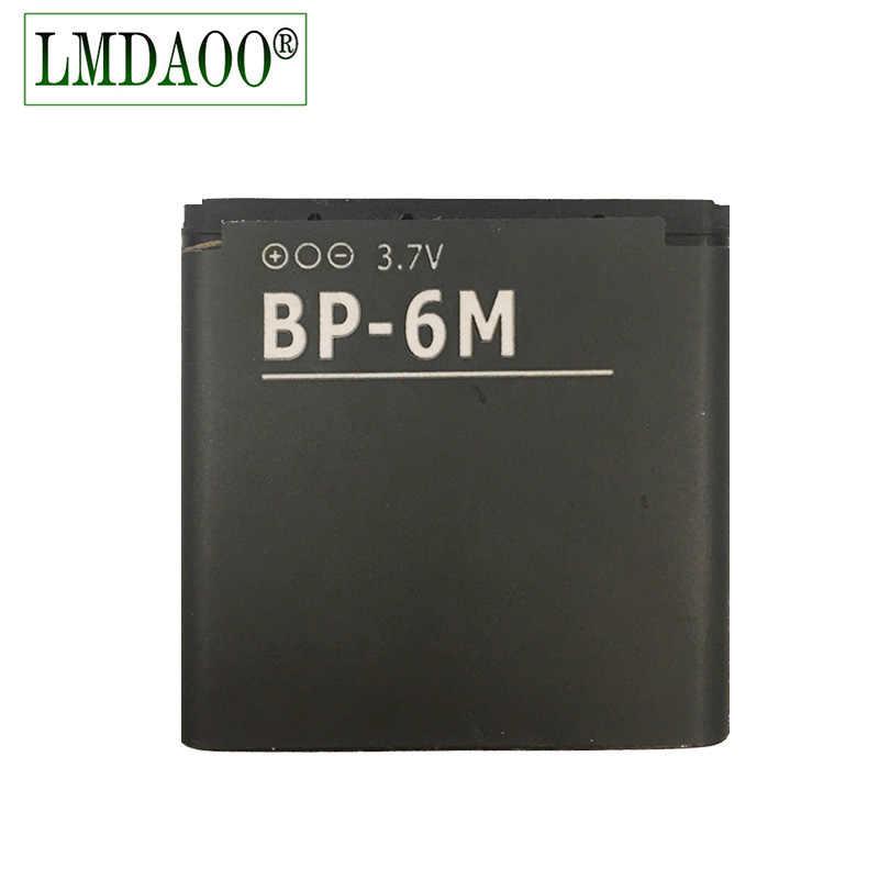 BP6M BP-6M BP 6 M تبديل البطارية ل نوكيا 6233 6280 6288 9300 N73 N93 بطاريات Batteria