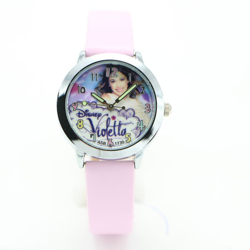 Fashion Brand Children Violetta Quartz Watch Kids Watches For Boys Girls Students Cute Wrist Watches New Clock Kids new arrival hansying brand children 3d butterfly strap quartz watch kids girls boys waterproof watches students clock reloj