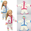 Doll accessories clothes Jacket two pieces for 18 inch 45cm Baby Born zapf \ American girl \ our generation doll
