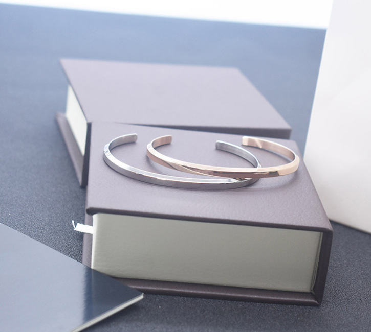 WITH BOX ,2019 New Brand DW Bracelets Cuff Rose Gold