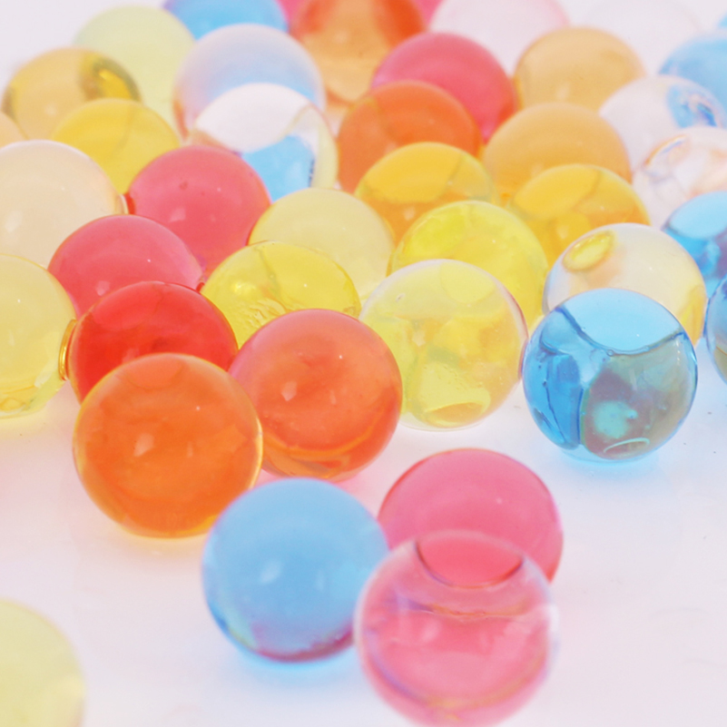 50000pcs Water Crystal Bullet Paintball Gun Bullet Pistol Toy Colorful Crystal Mud Soil Arme Orbeez Arma Outdoor Toy Kids