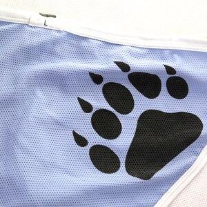 Image 4 - Nieuwe Aankomst Beer Klauw Plus Size mannen Netto Slips Sexy Shorts Gay Bear Ademend Ondergoed Neon Geel/Licht blauw/Rood M L XL XXL