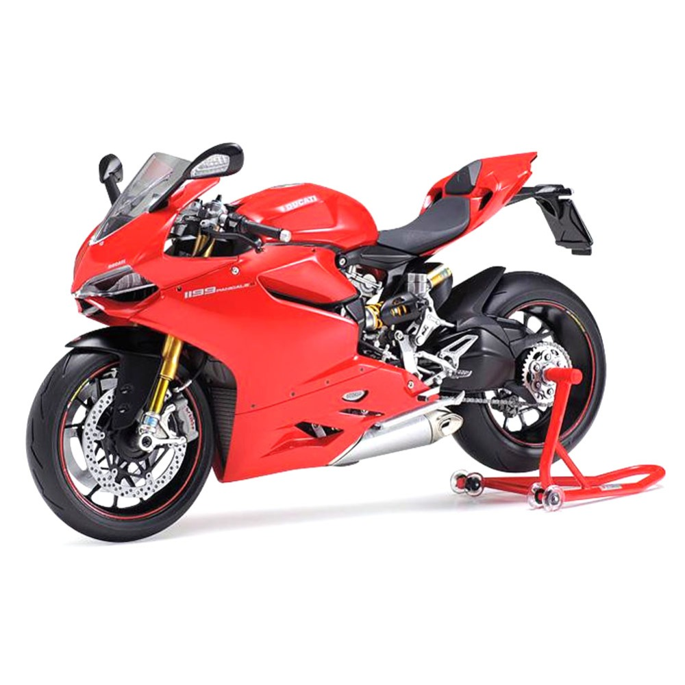 OHS Tamiya 14129 1/12 1199 Panigle S Scale Assembly Motorcycle Model Building Kits G цена