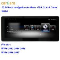 W176 Car GPS Navigation Head Unit for Mercedes CLA/GLA/A Class Smart Radio Stereo 10.25 Big Screen for Ben z 13 17 Multimedia