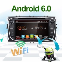 Android 6.0 Quad core 2 Din 7″ Car DVD Player For FORD/FOCUS 2 /MONDEO/S-MAX/CONNECT 2008 2009 2010 2011 head unit Car GPS Radio