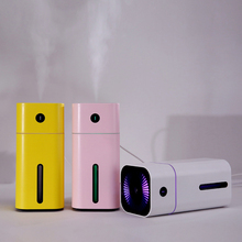 180ML USB Humidifier 7 colors LED changing light Mini Cool Mist for Office Car Bedroom air fresh Nano water sprayer