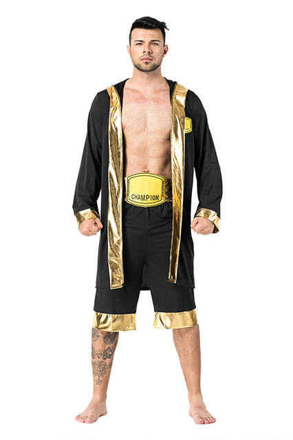 Halloween Adult Men Boxing Costume Boxer Role Playing Robe Halloween Carnival Cosplay Costumes  sc 1 st  AliExpress.com & Halloween Adult Men Boxing Costume Boxer Role Playing Robe Halloween ...