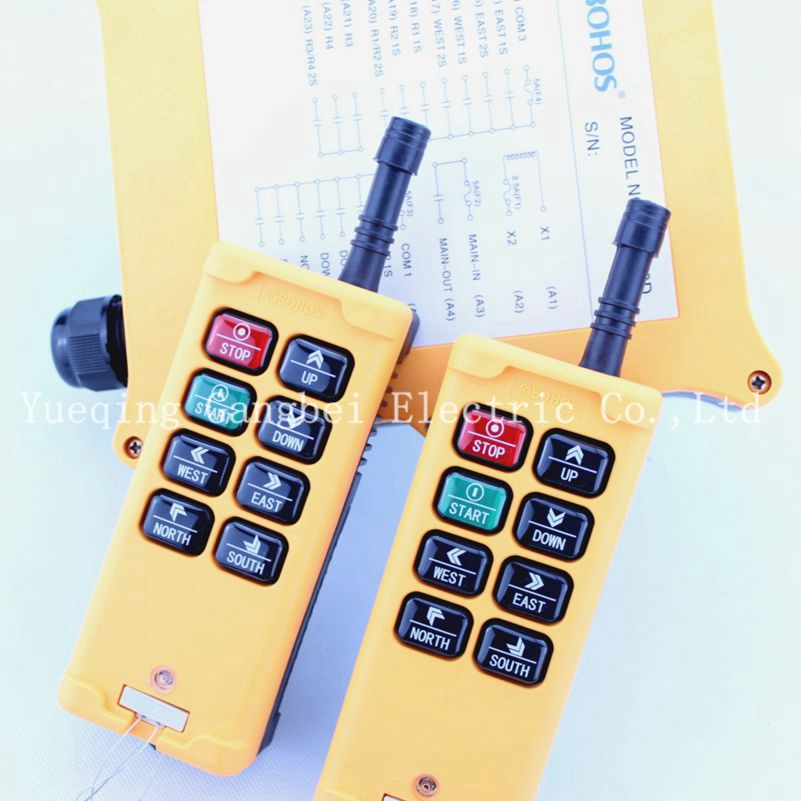 HS-8D6 Double speed (include 2 transmitter and 1 receiver) crane remote control nkf 11ct r033 3