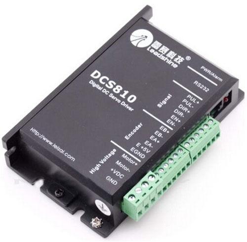 Nouveau Numérique DC Brosse Servo Drive 80VDC//20A leadshine DCS810 livraison gratuite