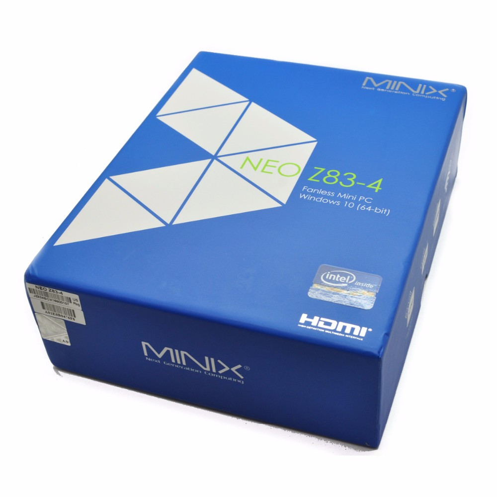 MINIX NEO Z83-4 MINI PC Gigabit 802.11AC Dual-Band WIFI Official Windows10(64-bit) Inte X5-Z8350 Cherry Fanless Atom MINI PC