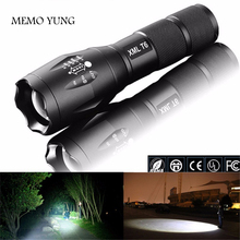 Здесь можно купить  USA Hot E17 XM-L T6 3800LM Aluminum Waterproof Zoomable cree LED Flashlight Torch light for 18650 Rechargeable or AAA Battery