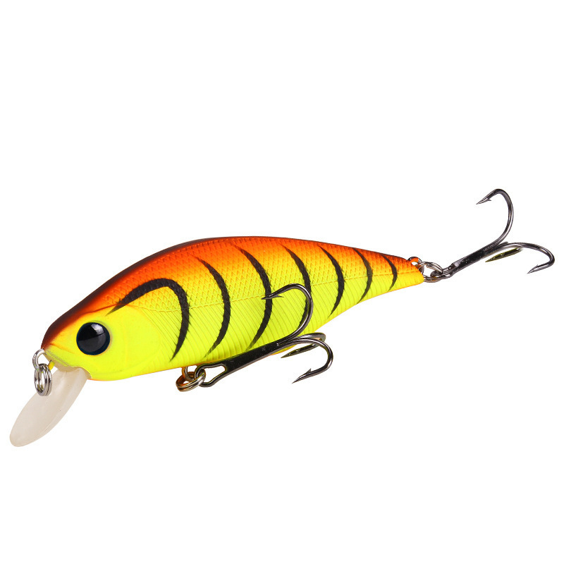 92mm 13.4g Artificial Wobblers Crankbait Fishing Bait Lures 3D Eyes Lifelike With 2 Hooks Plastic Hard Bait For Sea Fishing цена