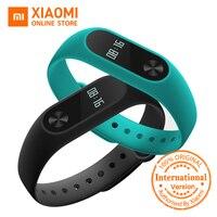 Global Version Xiaomi Mi Band 2 Miband 2 Smartband OLED Display Touchpad Heart Rate Monitor Bluetooth