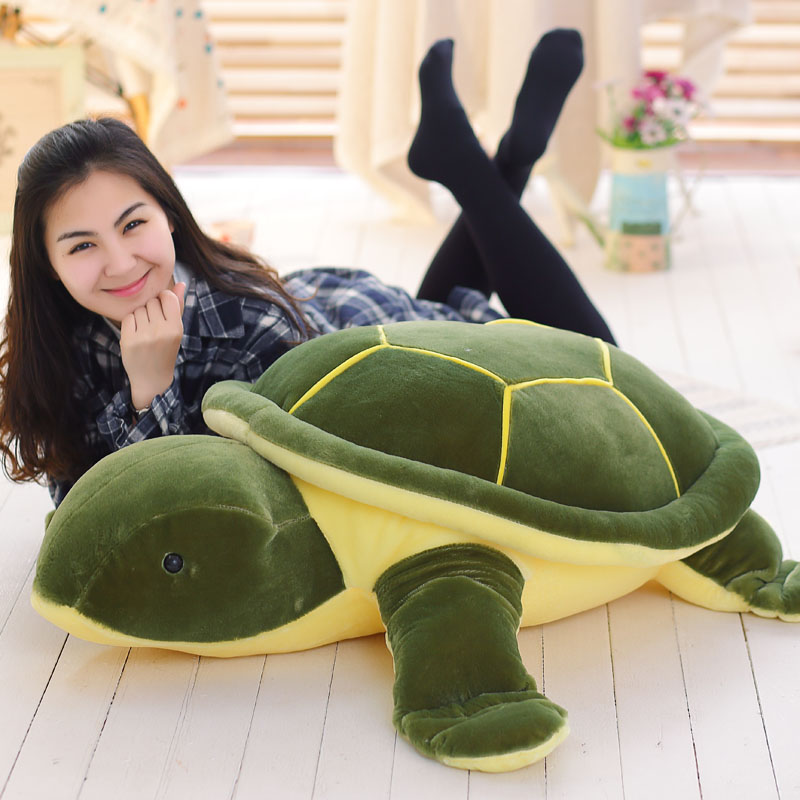 Giant Plush Animals Turtle Doll Large Turtle Plush Toy Cushion Sofa