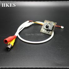 HKES Wholesale 8pcs/lot Free Shipping Mini AHD CCTV camera module with 3.7 mm lens