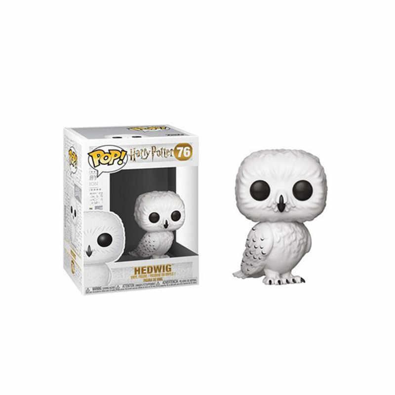 Funko POP Harri Potter Добби Sirius Black Hedwig Luna фигурка Коллекция Модель игрушки для детей Рождественский подарок