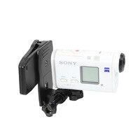Tüketici Elektroniği'ten Spor Kamera Kılıfları'de Sırt çantası klip Şapka sabitleme kıskacı Sony AS300R X3000R HDR AS300R FDR X3000RAS20 AS30V AS100V AS200V HDR AZ1 Eylem Kamera