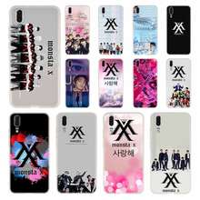 Kpop K.a.r. D Monsta X NCT 127 untuk Huawei P8 P9 Lite 2017 P10 P20 P30 Lite Plus Pro P Smart 2019 Cover Soft Cover(China)