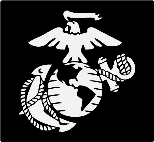 Car Styling Marine Corps - Eagle Globe & Anchor USMC Car Decal Window  Stickers